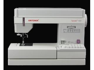 Gritzner Tipmatic 1037-DFT mechanische Nähmaschine -