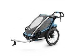 Thule Chariot Sport 1 Fahrradanhaenger Einsitzer Blue