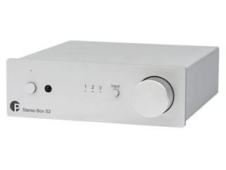 Pro-Ject Stereo Box S2 Vollverstärker Stereo silber -