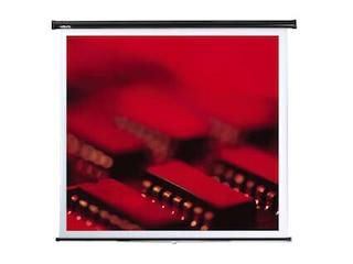 Reflecta Federroller Leinwand 125 x 125 cm -