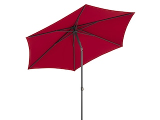 Schneider Schirme Marktschirm Sevilla, Durchmesser 270 cm, rund, ohne Schirmständer rot -
