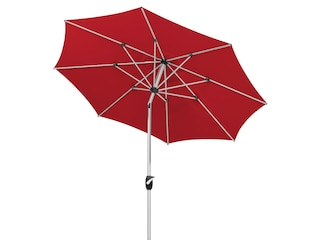Schneider Schirme Sonnenschirm Venedig, ohne Schirmständer rot -