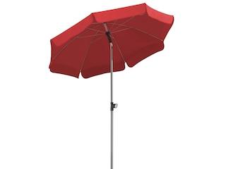 Schneider Schirme Sonnenschirm Locarno rot, Material Polyester, Stahl wasserabweisend -