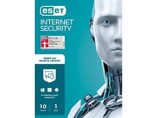 Eset Internet Security 2021 10 Geräte 1 Jahr -