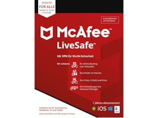 McAfee LIVESAFE PLUS ATTACH - MLC ATT [PC] -