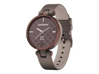 Garmin 010-02384-B0 Lily Classic Damen-Smartwatch Taupe/Mokka -