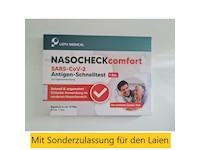 Lepu Medical NASOCHECKcomfort Corona Schnelltest für Zuhause (1er Set)