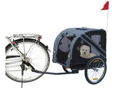 Karlie 31605 Doggy Liner Economy L: 125 cm B: 95 cm H: 72 cm grau-schwarz