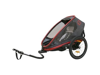 Hamax Fahrradanhänger OUTBACK ONE  (incl. bicycle arm & stroller wheel)reclining rot -