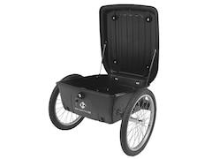 M-Wave Gepäck-Fahrradanhänger, Alu-Rahmen - schwarz - 20