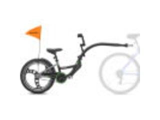 Kazam Tandem Fahrradanhänger Link Pro black-grey -