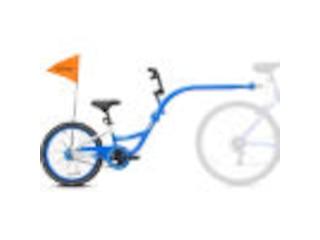 Kazam Tandem Fahrradanhänger Link white-blue -
