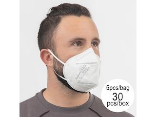 BigBuy Wellness Atemschutzmaske FFP2 NR YX135 5 Schichten (30er Pack) -