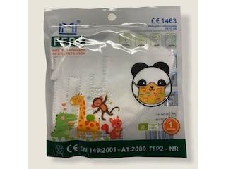 MM Manufaktur FFP2 Maske für Kinder weiß -