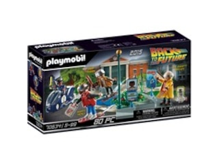 Playmobil Back to the Future Part II Verfolgung mit Hoverboard (70634) -
