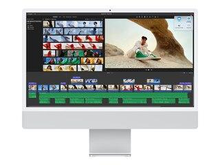 """Apple iMac 24"""" Retina 4.5K M1 chip (2021) 512GB - Silver (MGPD3D/A) -"""