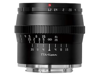 TTArtisan 50mm f/1,2 Micro-Four-Third -