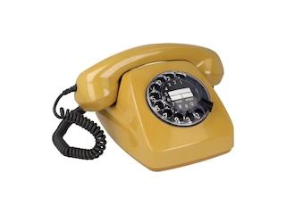Piezo W611 Nostalgisches Wählscheiben-Telefon strahlungsreduziert -