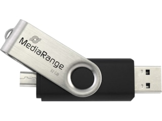MediaRange USB-Stick 2.0 32GB Kombo Micro USB (MR 932-2) -