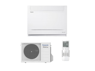 Panasonic UFE Truhengerät Single Split Set CS-Z35UFEAW / CU-Z35UBEA 3,5 kW -