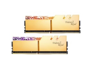 G.Skill Trident Z Royal DIMM 32 GB DDR4-4000 Kit gold (F4-4000C16D-32GTRGA) -
