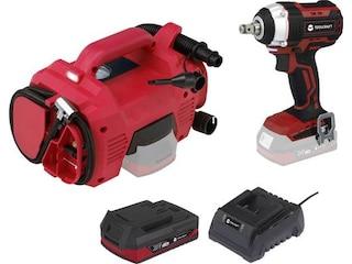 Toolcraft TAWB-200 2x20V Li-Ion -